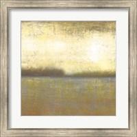 Framed Citron Lake II