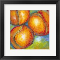 Abstract Fruits II Framed Print