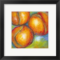 Framed Abstract Fruits II