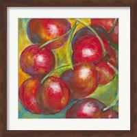 Framed Abstract Fruits III