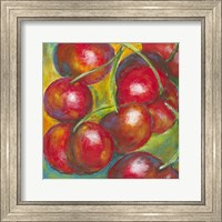 Framed Abstract Fruits III