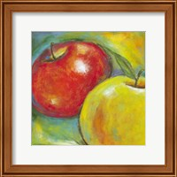 Framed Abstract Fruits IV