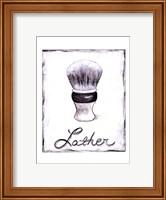 Framed Lather