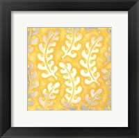 Classical Leaves I Framed Print