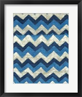 Silk Road Ikat IV Framed Print