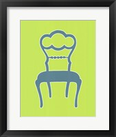 Graphic Chair IV Framed Print