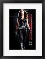 Framed Terminator: The Sarah Connor Chronicles - style BG