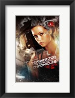 Framed Terminator: The Sarah Connor Chronicles - style BA