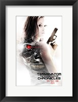Framed Terminator: The Sarah Connor Chronicles - style BC