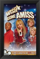 Framed Hannah Montana - Miley Cyrus - Wish Gone Amiss - style D
