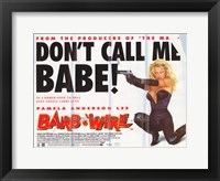 Framed Barb Wire - style C