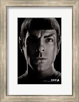 Framed Star Trek XI - Spock - style F