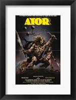 Framed Ator, c.1983