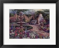 Framed Tranquil Garden