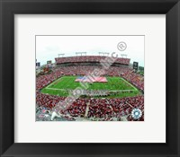 Framed Raymond James Stadium 2008