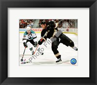 Framed Ryan Getzlaf 2008-09 Home Action