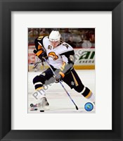 Framed Maxim Afinogenov 2008-09 Away Action