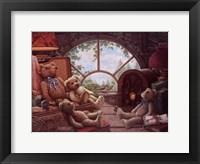 Bears In The Attic Framed Print