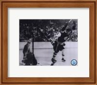 Framed Bobby Orr 1970 Action