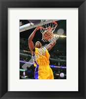 Framed Andrew Bynum 2008-09 Action