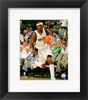 Framed Jason Terry 2008-09 Action