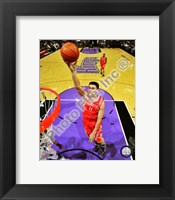 Framed Yao Ming 2008-09 Action