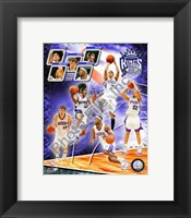 Framed 2008-09 Sacramento Kings Team Composite