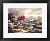 Days End Retreat Framed Print