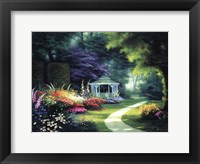 Framed Tree Lined Path