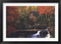 Framed Old Mill