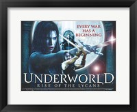 Framed Underworld 3: Rise of the Lycans, c.2009 - style C