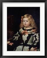Framed L'infante Marguerite
