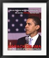 Framed 44th President