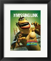 Framed Monsters vs. Aliens, c.2009 - style L