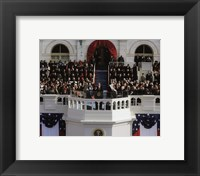 Framed 2009 Barack Obama Inaugural Address