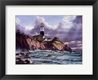 Framed Montauk Point
