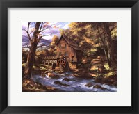 Framed Rocky Creek Mill