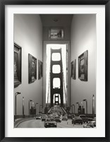Drive-Thru Gallery Framed Print