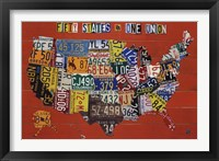 Framed Fifty States, One Nation
