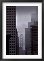 Framed Bay Bridge