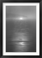 Nicasio Sunrise Framed Print