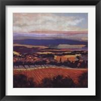 Framed Tuscan Sunrise
