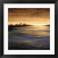 Framed Stewart Lake at Dawn II