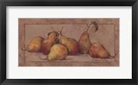 Framed Pear Fresco