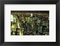 Framed New York City at Night