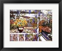 Framed Vine Covered Veranda