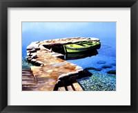 Little Pier Framed Print