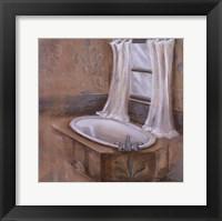 Framed Via Rose Bath I