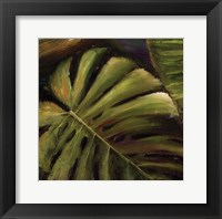 Green II Framed Print