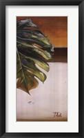 The Green Leaf II Framed Print